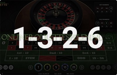 1-3-2-6 Roulette Systeem